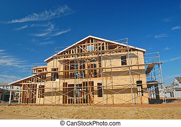 New Construction - A house under construction
