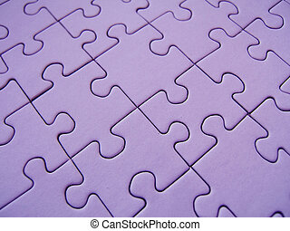 Purple jigsaw - Purple gigsaw texture
