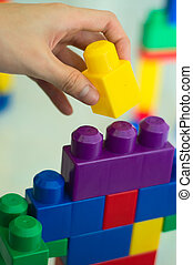 Building Blocks 03 - A children building blocks toy. Can be...