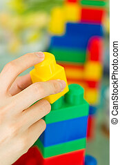 Building Blocks 04 - A children building blocks toy. Can be...