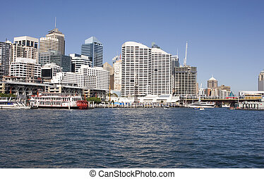 Sydney - Looking towards Darling Harbour