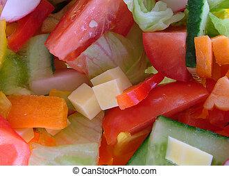 salad - tossed salad