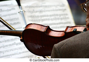 music03 - close up picture of musical instruments during a...