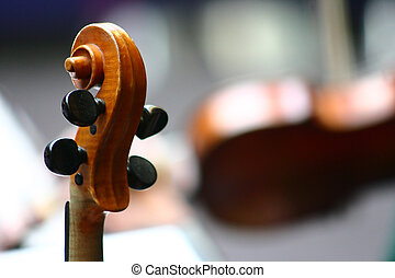 music04 - close up picture of musical instruments during a...
