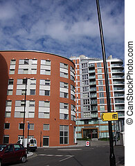 Docklands 58 - This is one of many residential buildings in...