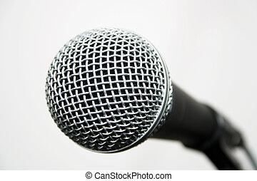 Mudanza, rollo, micrófono