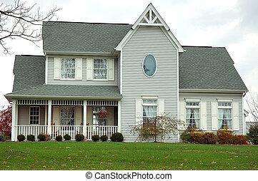 Farm House in Autumn - Farm House