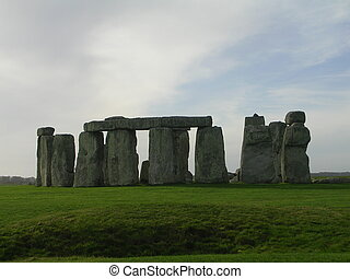 Stonehenge 7 - Stonehenge in early november