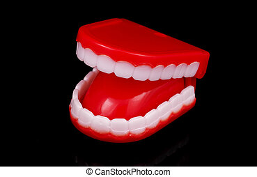 Novelty Teeth - Photo of Novelty Teeth