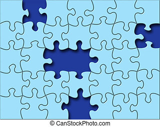 Missing piece - Puzzle's Missing Piece.
