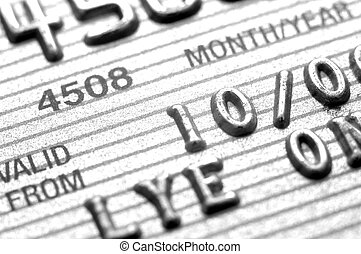 Credit cards Closeup