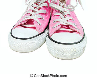 shoes - dirty pink shoes