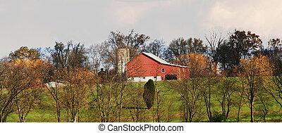 país, granero