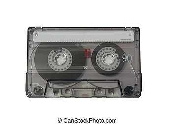 Music tape isolated