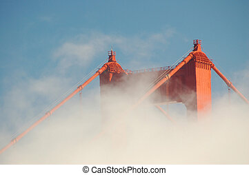 Golden Gate Bridge - The Famous Golden Gate bridge in...