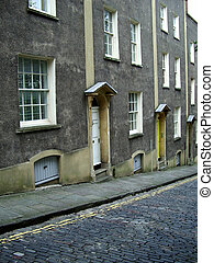 Victorian terrace - Terrace of victorian or older house in...