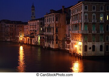 Venice by night - Canal grande