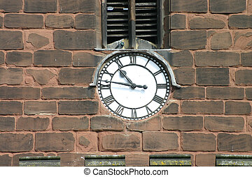 Church Clock - Clock on Chester Church