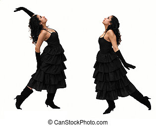 Dancing - Dramatic dancers