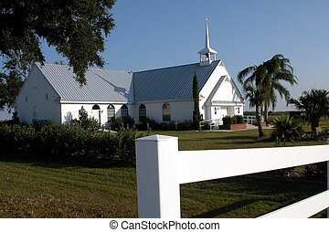Country Church - Photographed a country church at River...