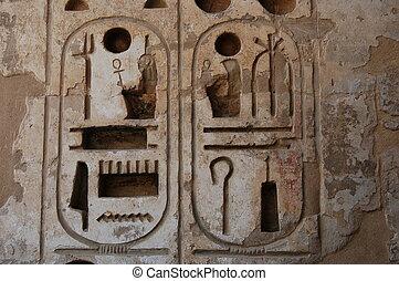 hieroglyphics, Egypt