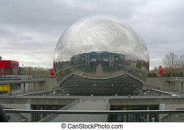 La Geode, La Villette, Paris, France