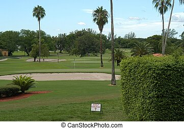 Golf club, Florida