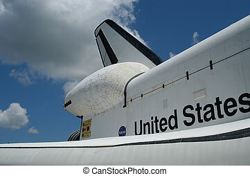 Space Shuttle at Kennedy Space Center, Florida