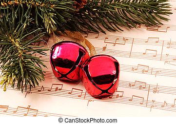 Christmas Carol - Christmas Bells and Sheet Music