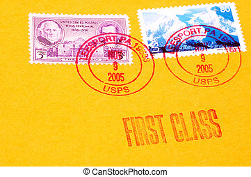 Postage - First Class Postage Stamps