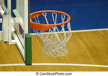 Basketball - Ball has gone inside the basket