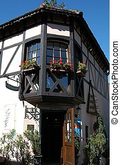 House in Alsace - Typical house in Alsace, France