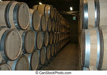 French wine cellar, Bourgogne, France