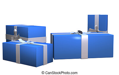 gift box 2 - gift box illustration