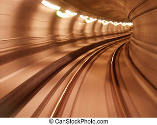 metro2 - low shutter speed picture taken from the metro in...