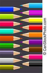 pencils - coloured pencils