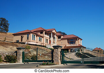 Exclusivity - A gated community in California