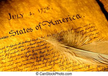 declaração, independência