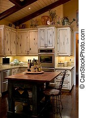 Island Kitchen - French kitchen