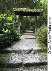 Garden Entrance - Japanese Garden Entrance