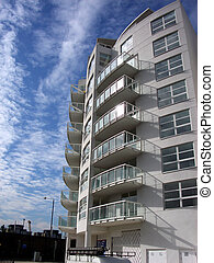 Docklands 62 - This is one of many residential buildings in...