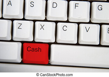 Cash Key - Isolated ALT on from a computer desktop keyboard...