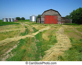 The Old Barn - This barn belongs to the old farmhouse where...