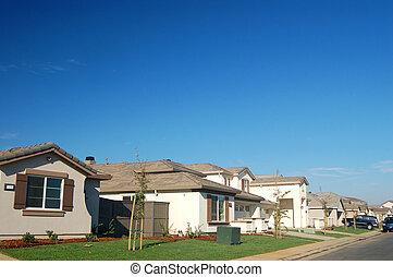 The Neighborhood - suburban houses