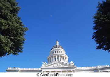 California Capitol Building - The Capitol Rotunda in...