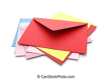Envelopes 4 - Colorful Envelope Series 4