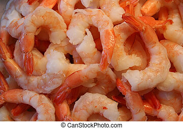 Cooked Shrimp - A Plate of Delicious Cooked Shrimp
