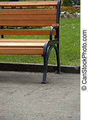bench in the park - bench