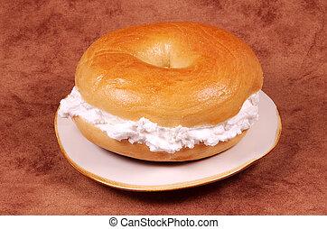 Bagel - Cream Cheese Bagel