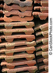roofing tiles - Great roofing tile pile